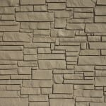 EcoStone Fence Systems Brown
