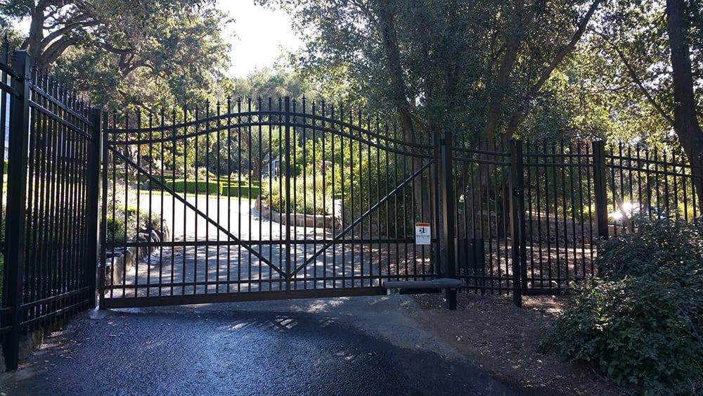 Aluminum Swing Gates