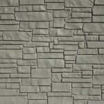 EcoStone Fence Systems Gray