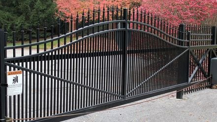 Aluminum Cantilever Gates