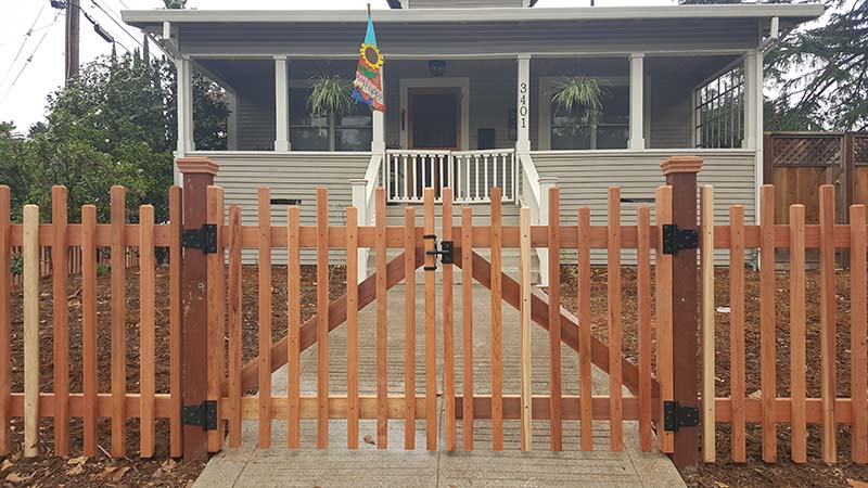 Custom Picket Fence